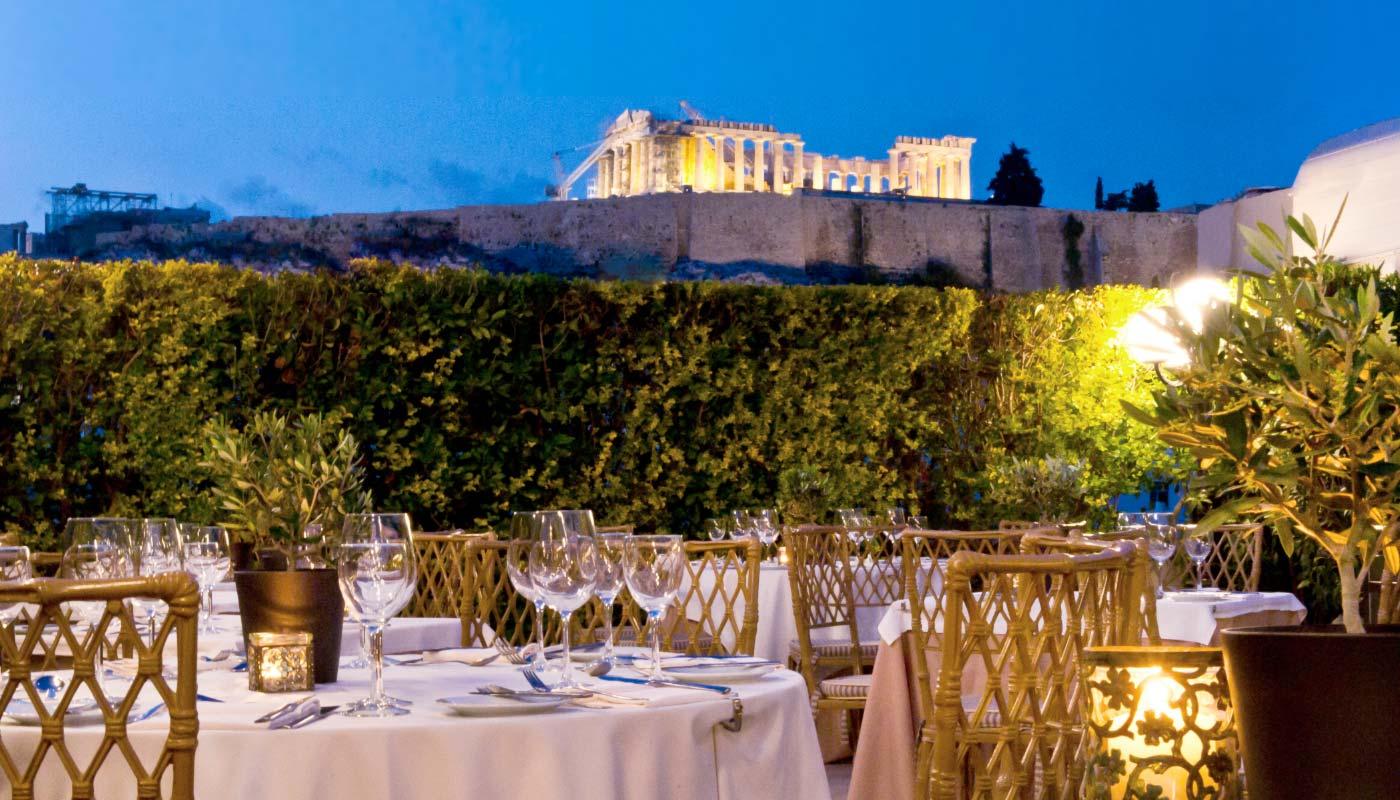 divani palace acropolis restaurants and bar. Black Bedroom Furniture Sets. Home Design Ideas