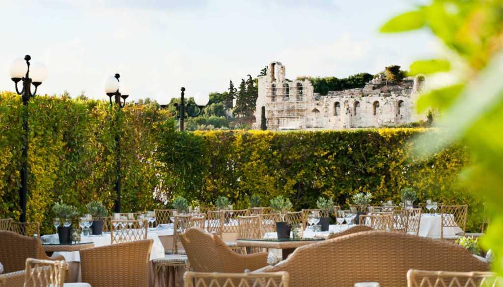 Divani Palace Acropolis - Acropolis Secret Restaurant - Herodion View