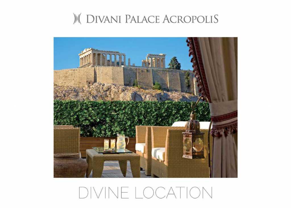 Divani Palace Acropolis - Corporate Brochure - Cover