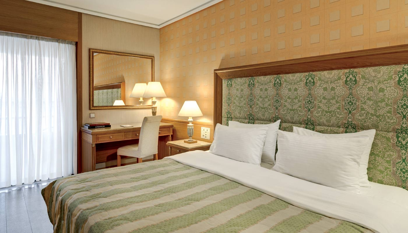 Divani Palace Acropolis - Standard Room - Bedroom