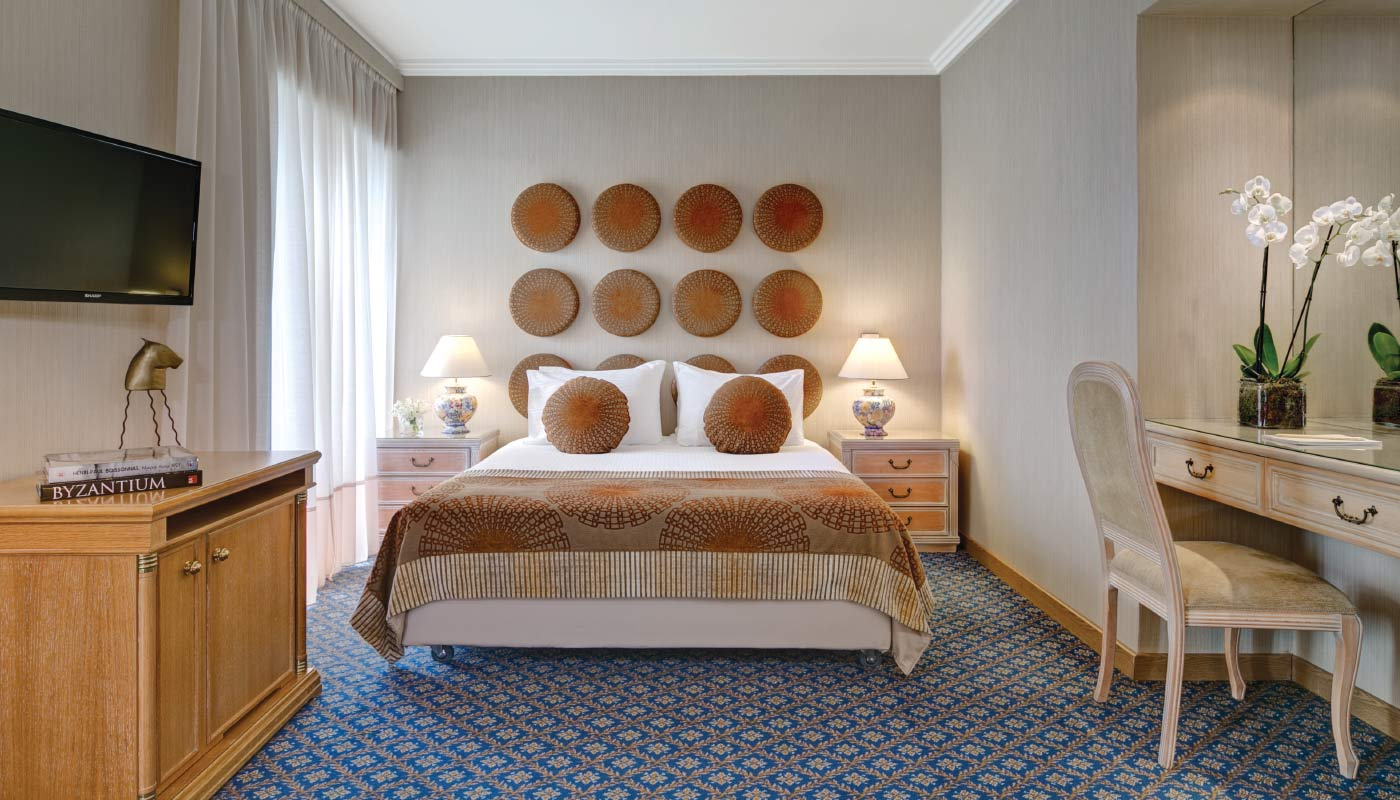 Divani Palace Acropolis - Executive Suite - Bedroom