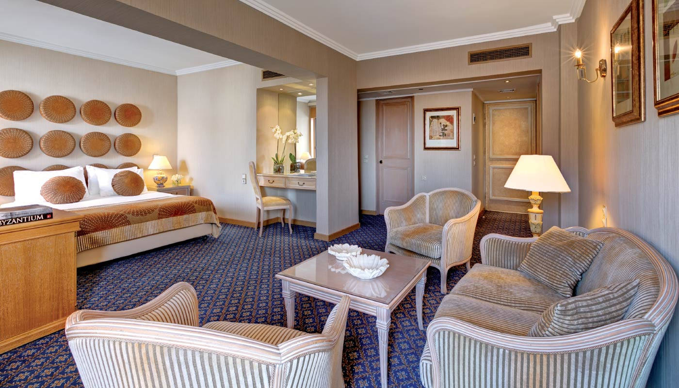 Divani Palace Acropolis - Executive Suite - Living Room