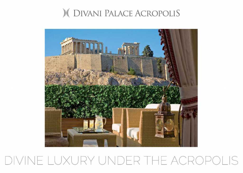 Divani Palace Acropolis - Fact Sheet - Cover
