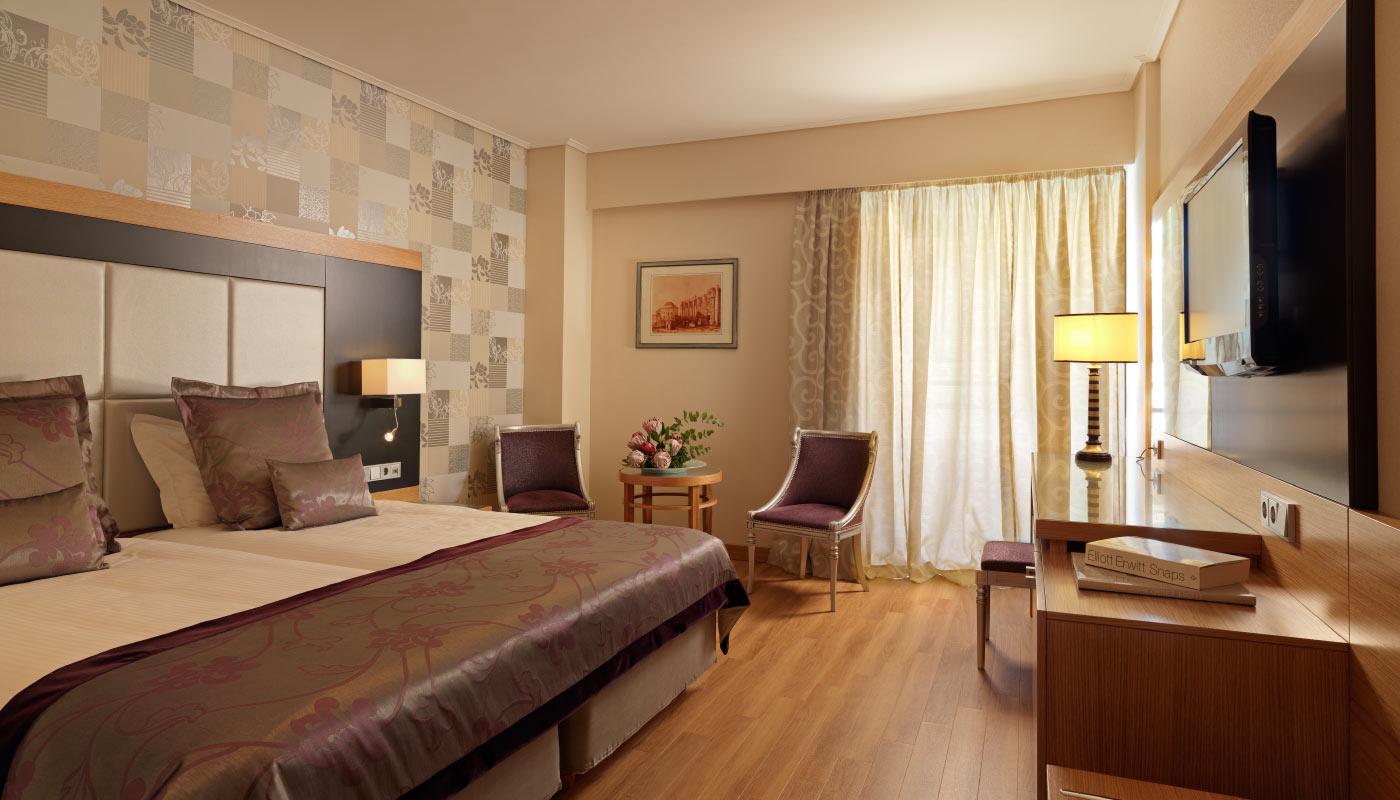 Divani Palace Acropolis - Executive Room - Bedroom