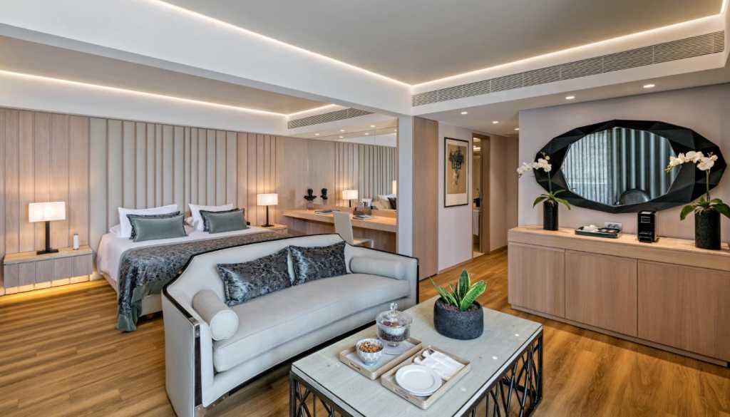 Divani Palace Acropolis - Acropolis Terrace Suite - Living Room