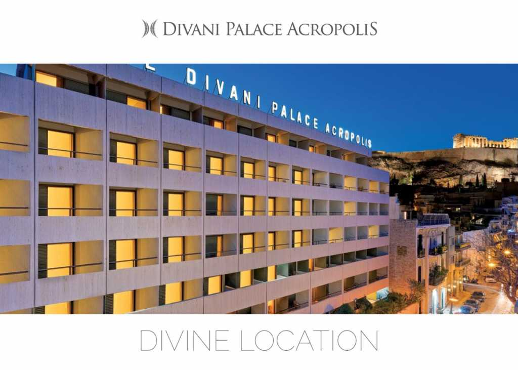 Divani Palace Acropolis - Corporate Brochure - Cover